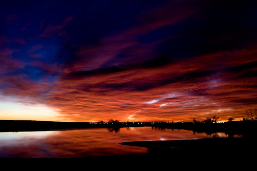 morning lake reflection fall clouds sunrise landscape colorado skies loveland robertbensonlake ffpblog