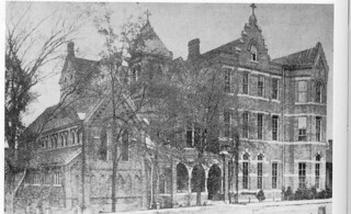 Sister's Chapel and St. Mary's Episcopal School for Girls, 1900