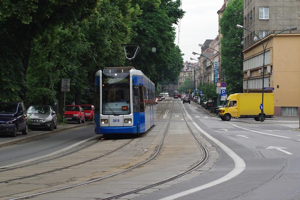 Tramwaj nr 2018 / Streetcar number 2018