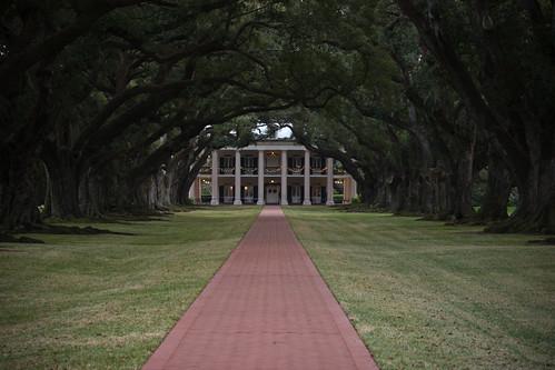 house home la oak alley louisiana southern plantation