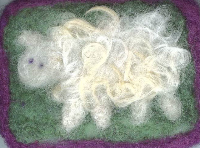 ATC Traded - Needlefelted Sheep
