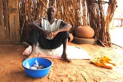 Boureïma Sodio in Dogon village of Tedie Kanda
