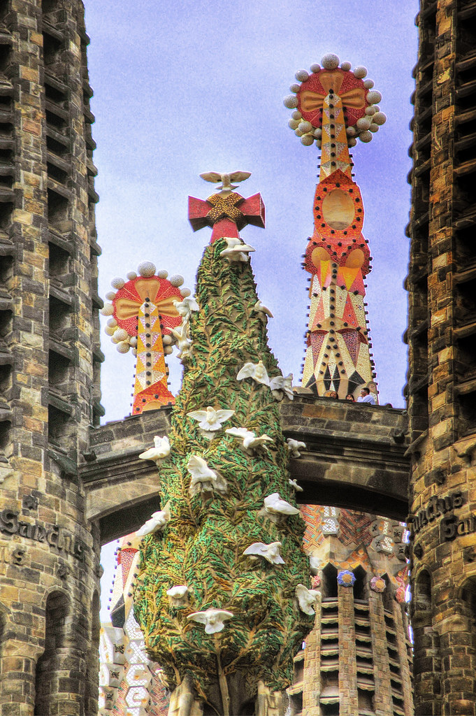 Barcelona Sagrada Familia Klick Here For A Large View