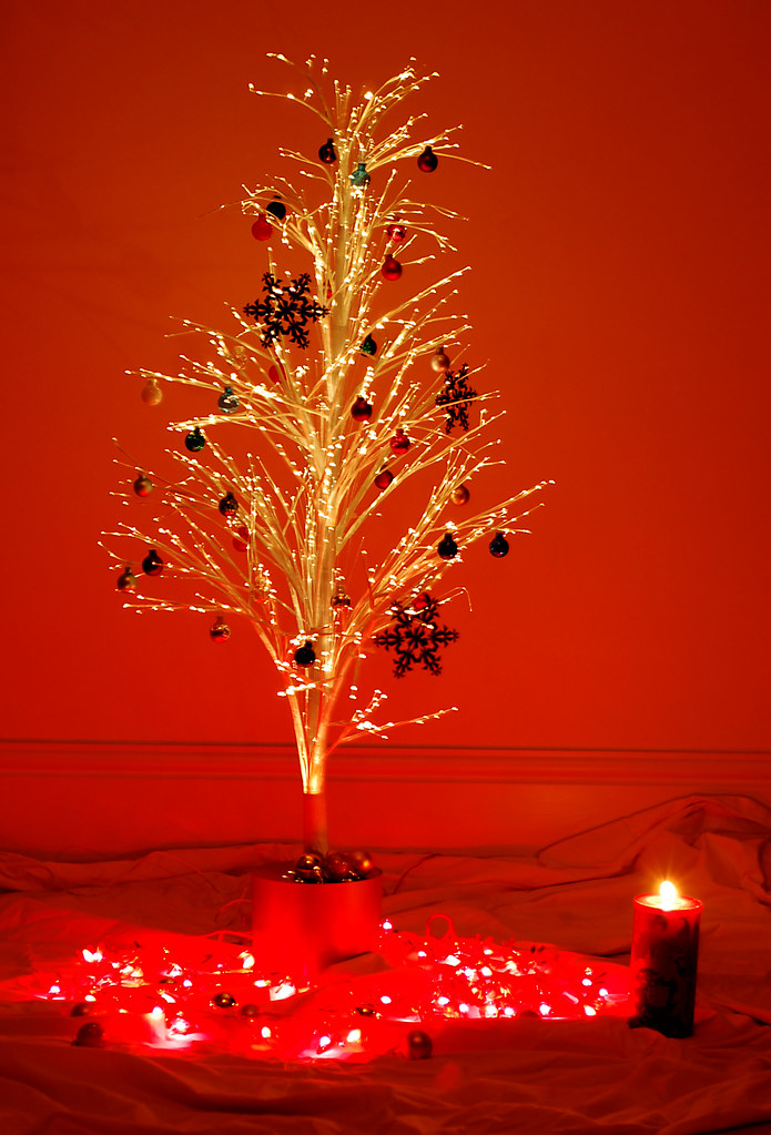 Merry Christmas!   Part Charlie Brown's Christmas tree ...