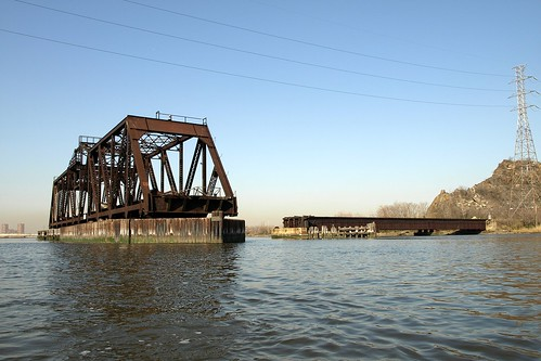 DB Draw Railroad Bridge over Hackensack River, New Jersey | by jag9889