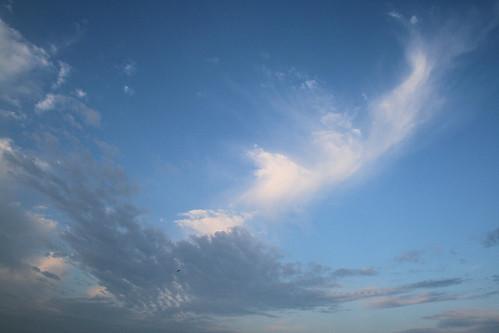 morning blue sky white clouds sunrise early alabama dauphinisland xti chriscpk214