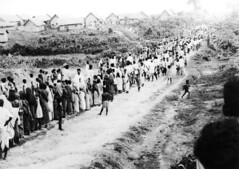 Bengali refugees heading to India to flee persecution during the 1971 war of liberation. | by Bangali871