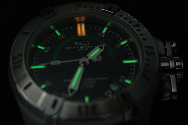 Ball Engineer Hydrocarbon - Dial and Lume