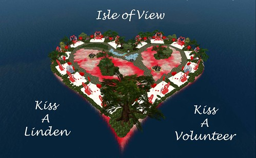Isle of View - Celebrate Valentine's Day in Second Life | by ▓▒░ TORLEY ░▒▓