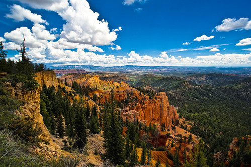 park camera sky usa clouds america utah high scenery rocks view loop sony scenic away canyon best national vista bryce geology alpha dslr distance far hoodoos distant a900