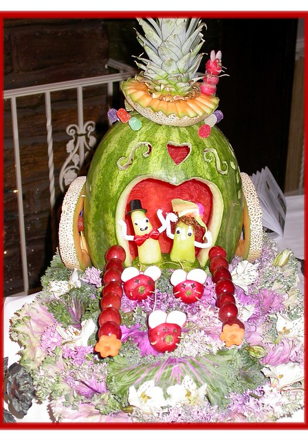 watermelon carriage