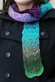 Travelling Vine Scarf | by domesticatedhuman