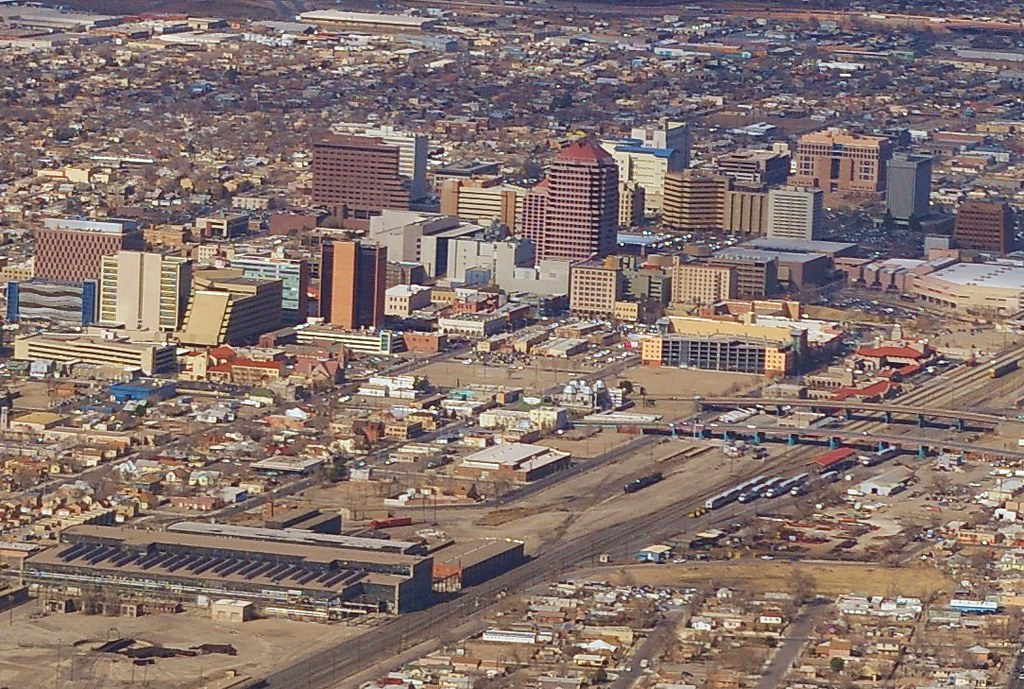 Downtown Albuquerque, NM | You'd need a hot air balloon to g… | Flickr