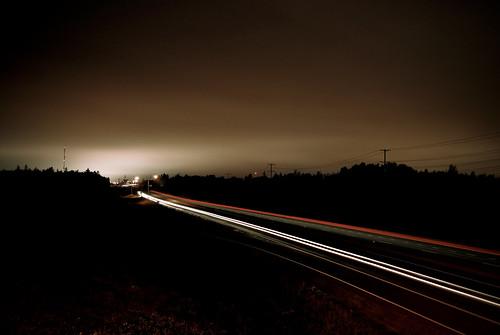 longexposure lightpainting motion slr cars night dark landscape outside outdoors lights twilight nikon highway traffic headlights nb fredericton newbrunswick freeway nikkor lightgraffiti traffictrails 10mp explored 1855mmf3556 d80 nbphoto 18mm55mm f35f56
