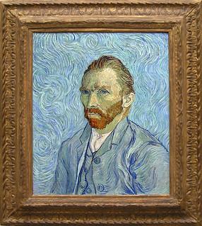 Van Gogh Self Portrait, 1889