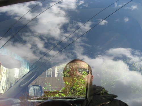 Me Reflected In My Neighbor's Truck Window | by famous!