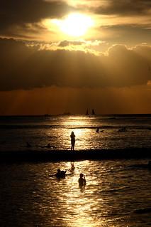 Waikiki Sunset | by Frank Peters