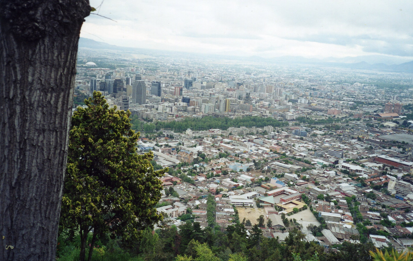 Panoramica de Santiago de Chile