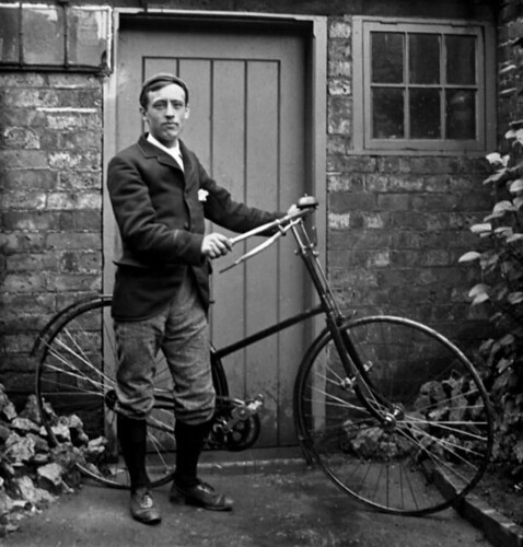 Victorian Cyclist, circa 1890. | by canong2fan