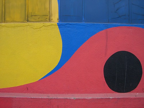 Yellow, blue, red and black. | by A National Acrobat