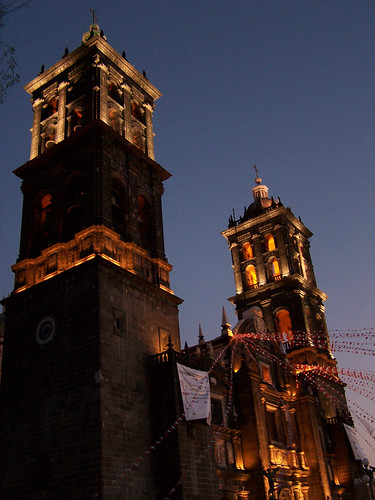 Catedral con luces