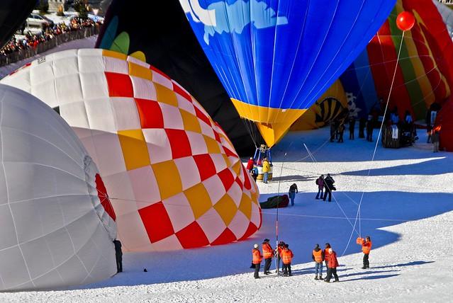 Château d'Oex Festival de Ballons 2007/1...