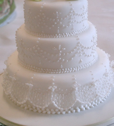 Miniature wedding cake @Squires Kitchen competition 1 | by rosey sugar
