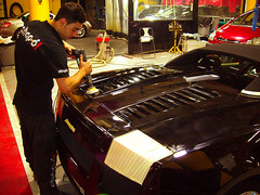 Pulir coche. Lamborghini Gallardo