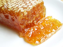 comb honey from alois dallmayr   by bionicgrrrl