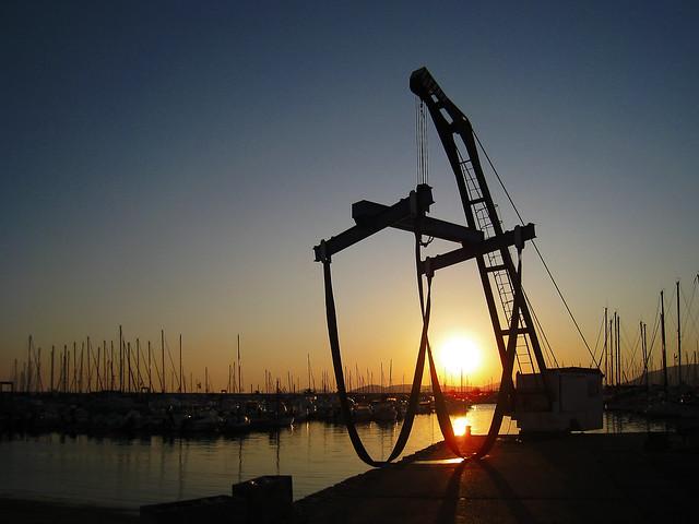 Alghero (Italy) - Un tramonto sul porto [2]