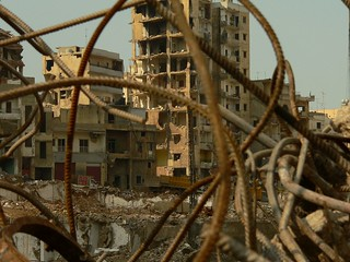Beirut. Dahia. Fall 2006