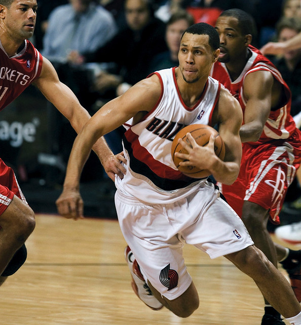 Portland Trail Blazers Brandon Roy: Portland Trail Blazers Vs. Houston