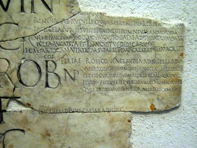 Roman Calendar.Roman Calendar In The Museo Nazionale Romano Dan Diffendale Flickr