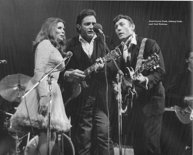 June Carter Cash, Johnny Cash and Carl Perkins