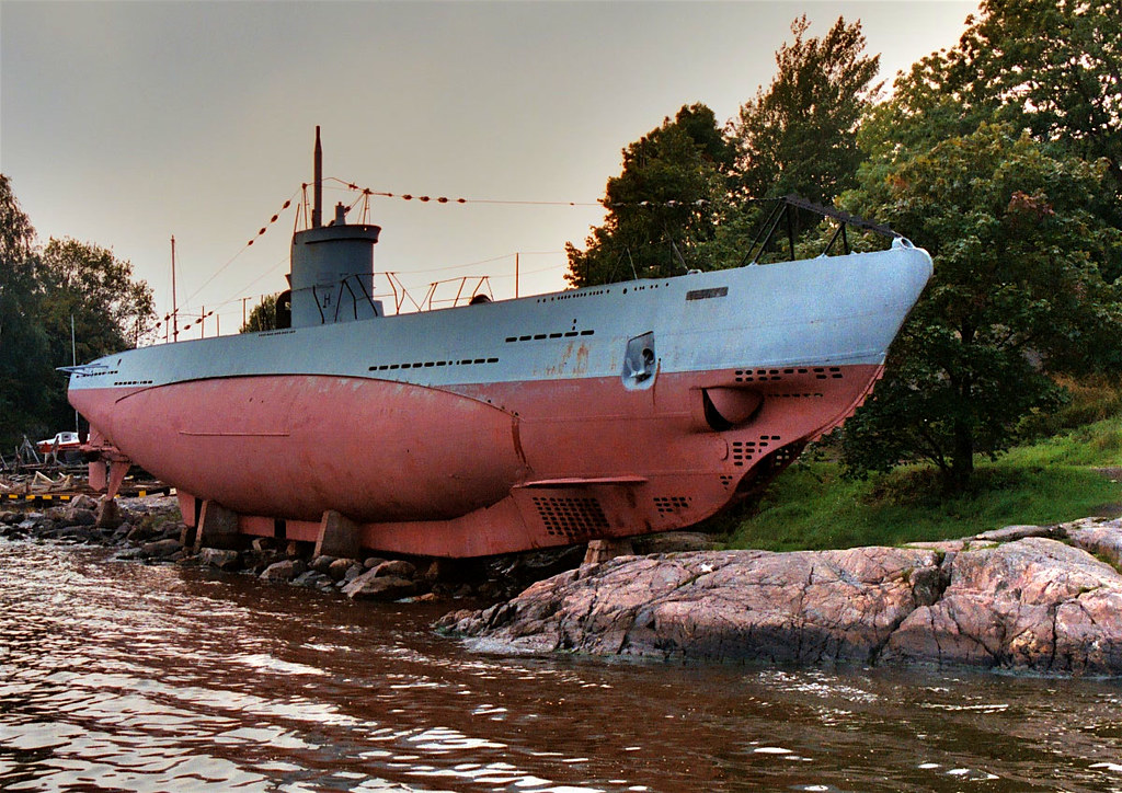 WWII Submarine, Helsinki, Finland | Vesikko was a submarine … | Flickr