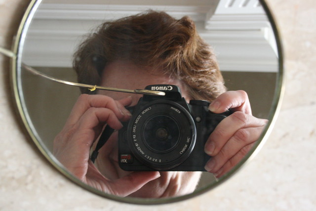 Me and My Canon reflected