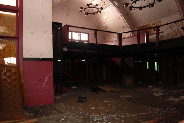 Lansing Train Depot - abandoned