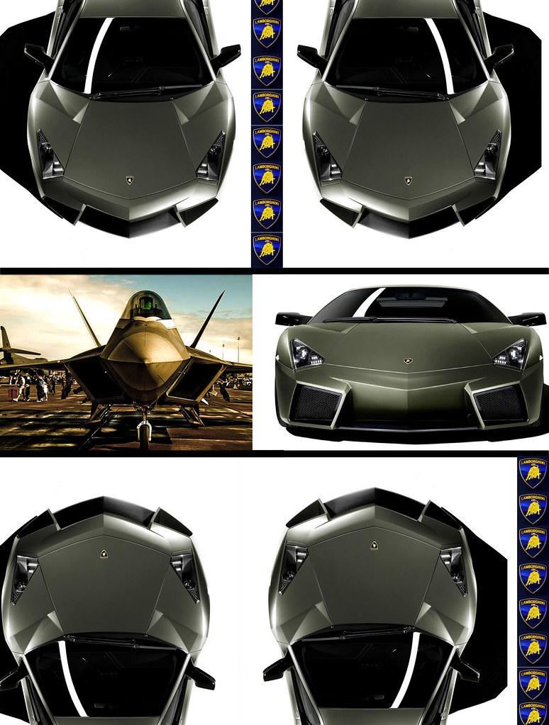F22 Raptor Lamborghini Reventon Front End I Used Photo Sho Flickr