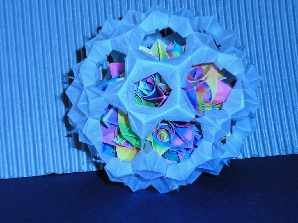 180 Unit Sonobe Buckyball « Math Craft :: WonderHowTo | 768x1024
