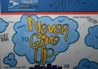 Never Give Up | by GregPC