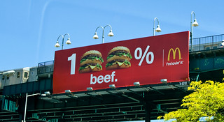 McDonalds: 100% Beef | by chrismar