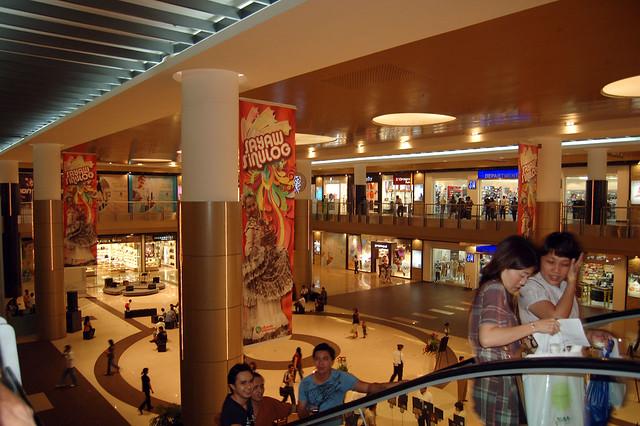 Shopping mall in Cebu