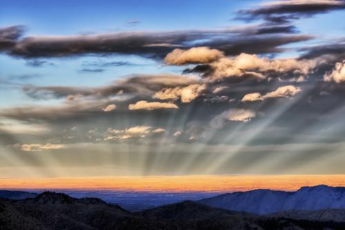 light sunset sky weather landscape nikon bravo colorado searchthebest east odd rays drake soe hdr crepuscular phenomena larimer d300 naturesfinest anticrepuscularrays stormkingmountain clff mywinners impressedbeauty infinestyle