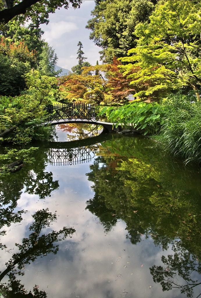 Laghetto giapponese apartments giardini di villa melzi for Laghetto giapponese