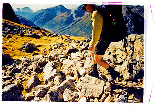 Avalanche Peak Tramping; Cross Processed View