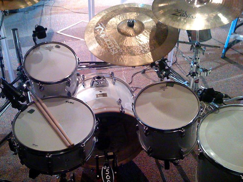 new drums at church