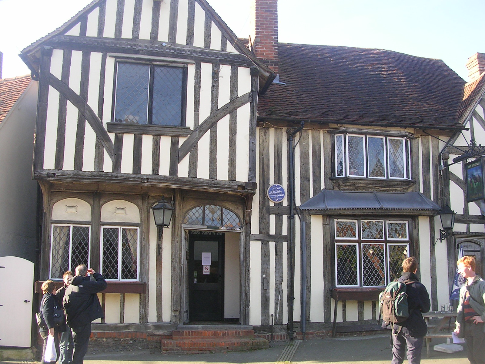 The Woolpack Inn, Coggeshall Kelvedon circular via Coggeshall