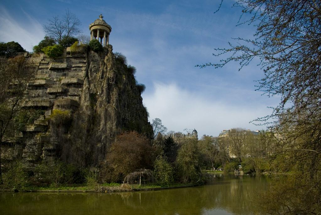 Paris, Temple de la Sybille, Parc des buttes Chaumont
