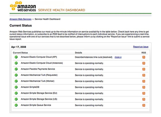 AWS Service Health Dashboard | status aws amazon com/ | Flickr