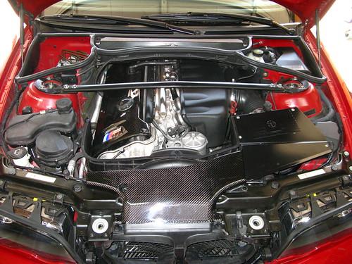 BMW E46 M3 Engine Bay - Carbon Fiber Goodness   by peter*g